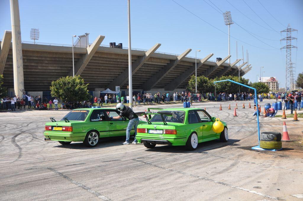 BMW Drift Show in Tripoli