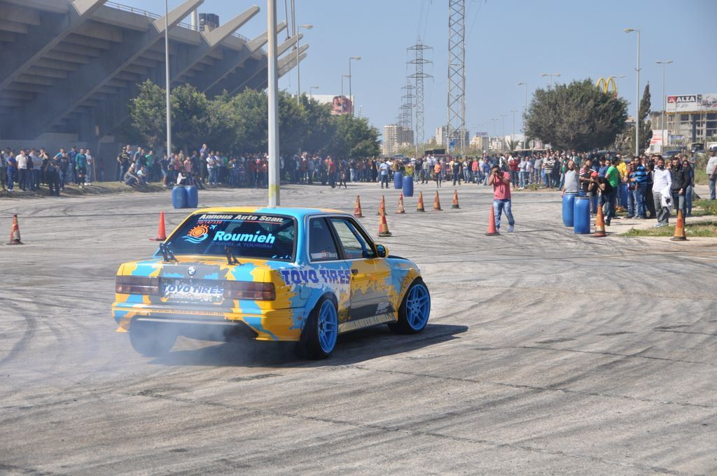 BMW Drift Show in Tripoli