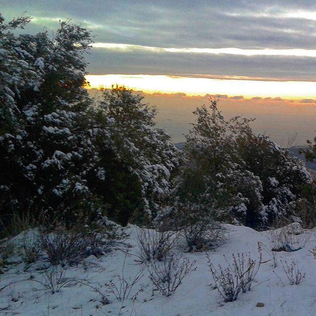 sunsetsunafterstorm wintertime snow (Deleb)