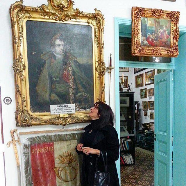 Avec Napoleon (Edward Nassar Museum)