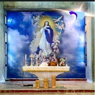 church merededieu motherofgod autel (Mrayjet El Shouf)