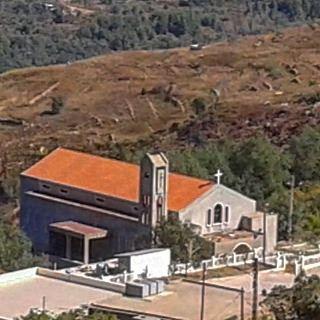 church redbrick beautifulvillage (Mrayjet El Shouf)