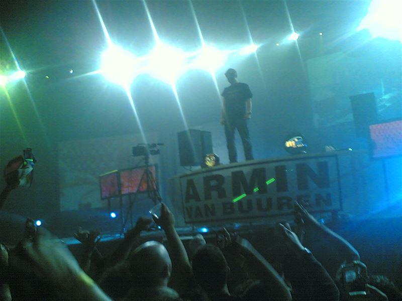 Armin Van Buuren Concert November 2005