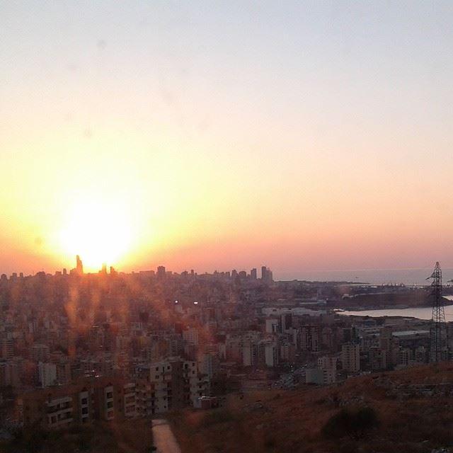 sunset sunnofilter light coucher du soleil beirut