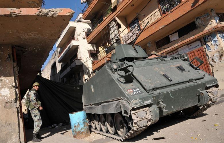 Lebanese Army in Tripoli