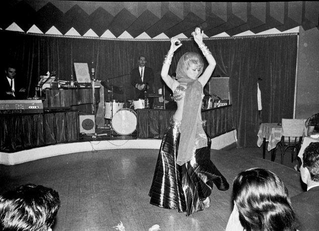 Kitkat Night Club Beirut 1966