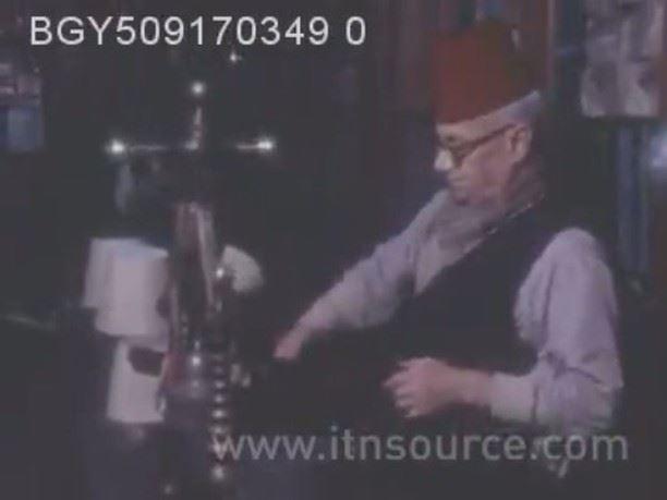 Leading tarboosh maker in #Beirut is Mr. Michel Jalkh