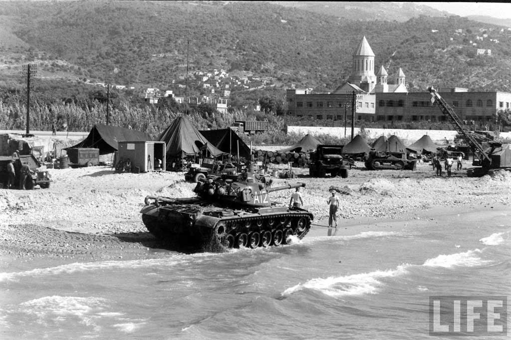 American Army in Beirut (1958)