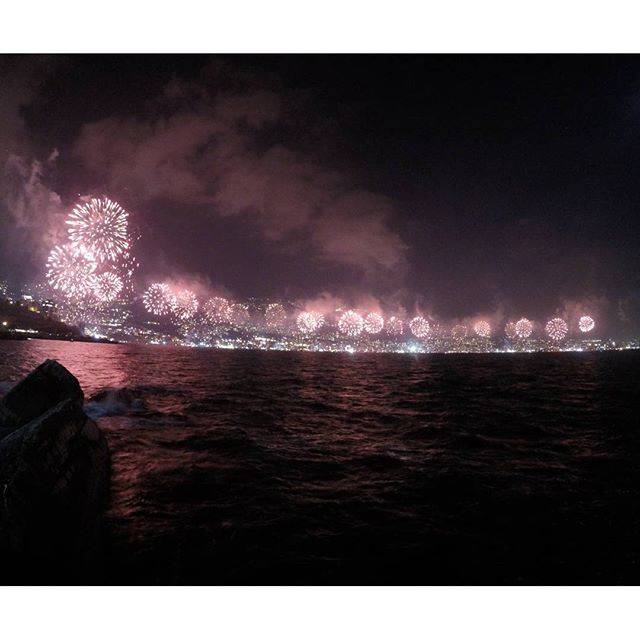 Fireworks do not only illuminate the sky, they also light up the eyes of those who watch them. (Festival De Jounieh)