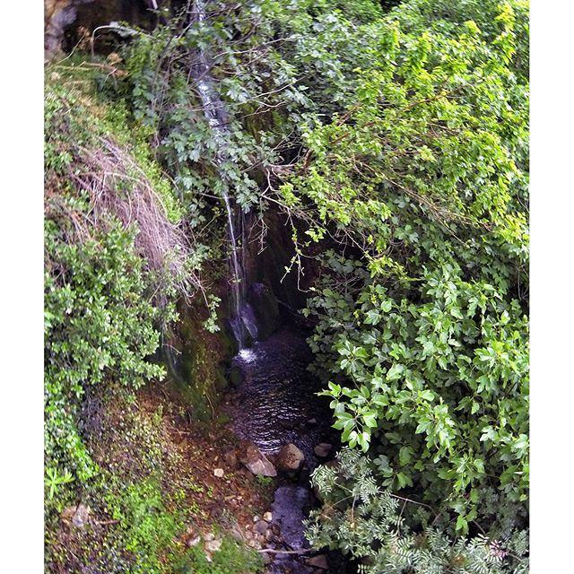 Hiden waterfall. 🗻