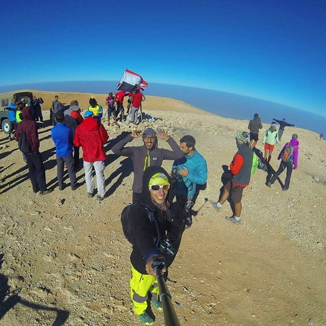 Highest point in the Middle East Qornet Al Sawda 3088m