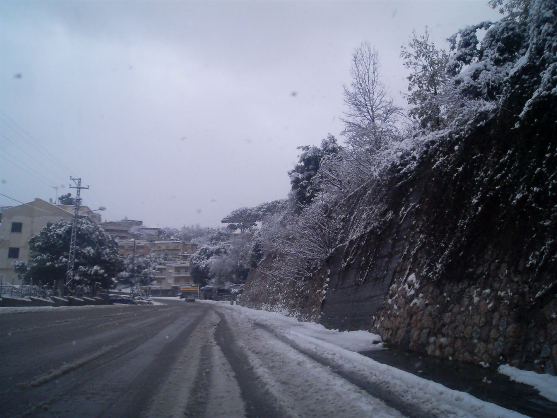 Snow in Lebanon
