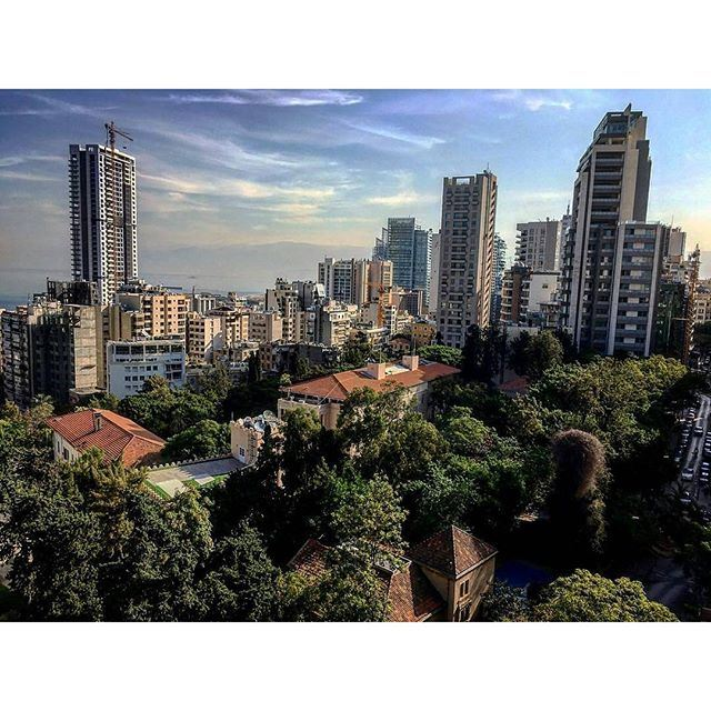 Good Morning Beirut 🏡🌲🌳 (Rotana Gefinor Hotel Beirut)