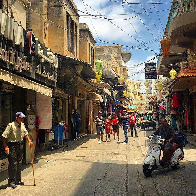Tyre Old Souk @TyreCity 👌 (Tyre, Lebanon)