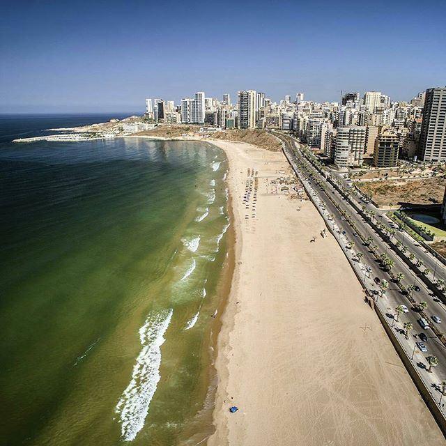 AboveBeirut Al Ramleh Al Baydah! (Ramlet Al Bayda Public Beach)