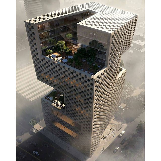 We're thrilled to announce that we've won the competition to design the new @blflebanon HQ in Beirut. (Beirut, Lebanon)