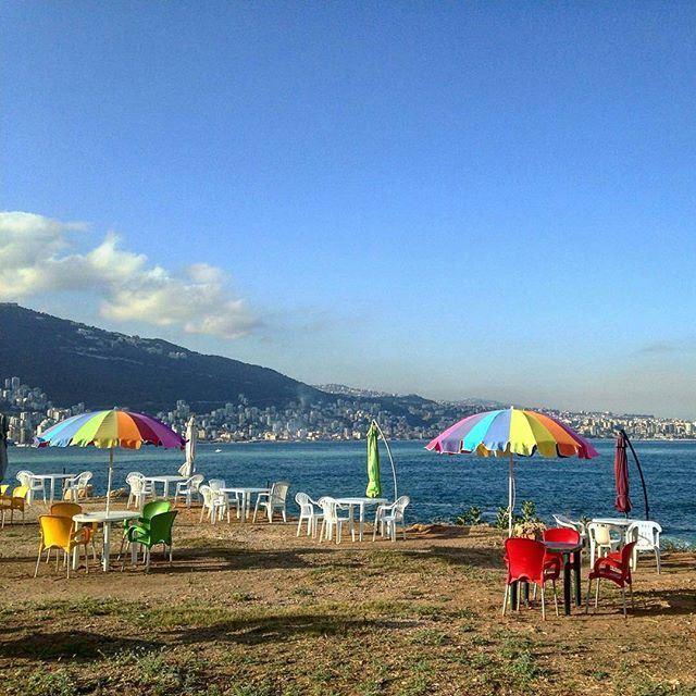 Morning Jounieh 🏖 (El Maâmelteïne, Mont-Liban, Lebanon)