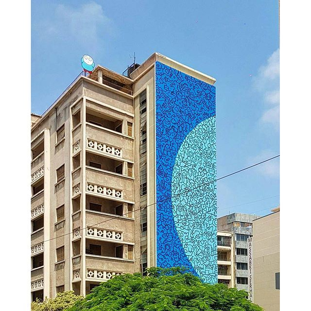 Street Art 🎨 In Beirut (Hamra - حمراء)