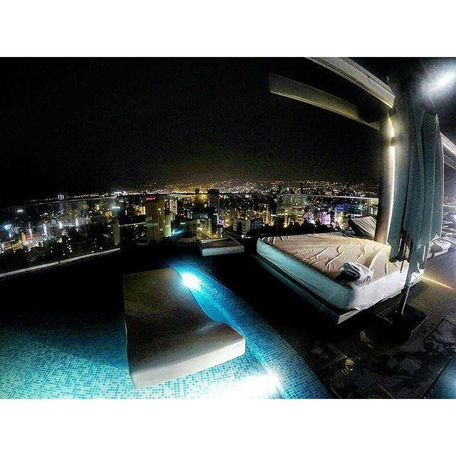 Beirut at night 🌃 (Beirut, Lebanon)