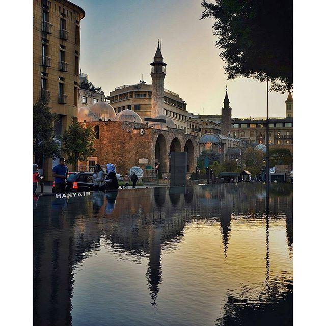 Beirut life! العيش_المشترك (Downtown Beirut)