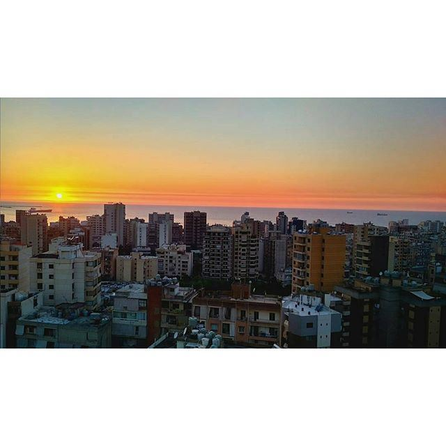 Can't get enough of this view 😍 (Beirut, Lebanon)