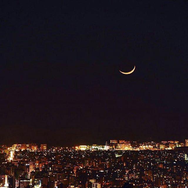 Good night Beirut and Ramadan Kareem 🌃 (Beirut, Lebanon)