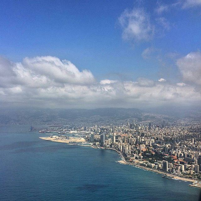 Beirut. It's not until one gets closer that the imperfections reveal themselves. Yet there, amidst these myriad flaws, is where the unique and characterful beauty of the city lays. It's good to be home. (Beirut, Lebanon)