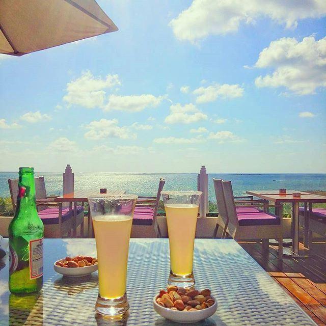 Relaxing Time 😍💙💚 (Beirut, Lebanon)