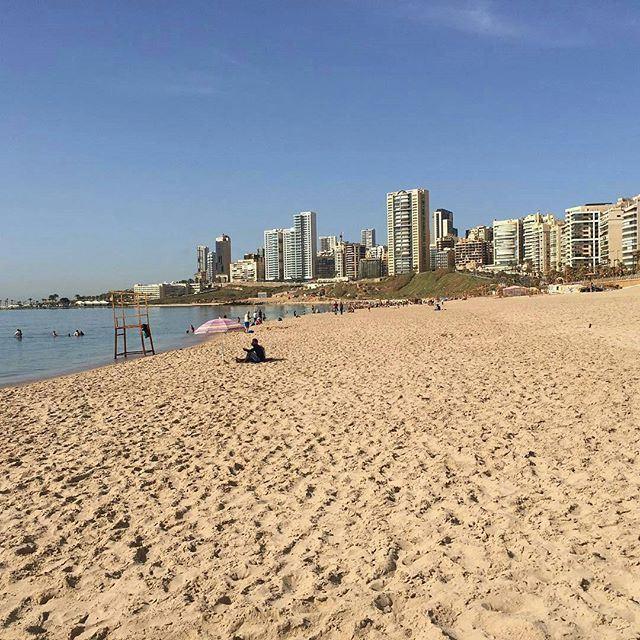 أول أيام الصيفية. (Ramlet Al Bayda Public Beach)