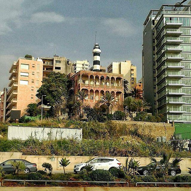 Ancien phare de Beyrouth. (Manara-Rawshé)