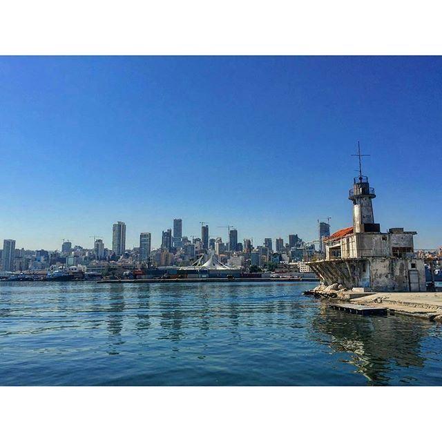 بعيد عنّك حياتي عذاب. بيروت (Port of Beirut)