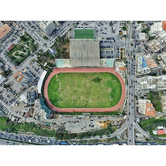Let's get this weekend started and enjoy football... Our famous Fouad Chehab Stadium. (Fouad Chehab- Jounieh)