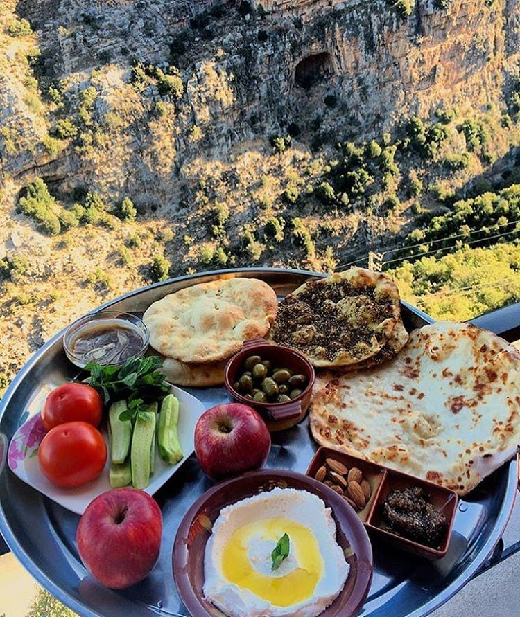 Authentic Lebanese Breakfast