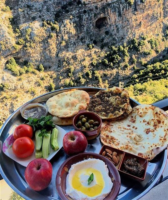 Authentic Lebanese Breakfast