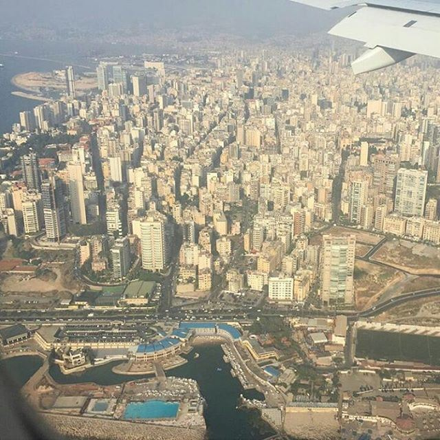 📍Beirut from above 🙌 Beirut