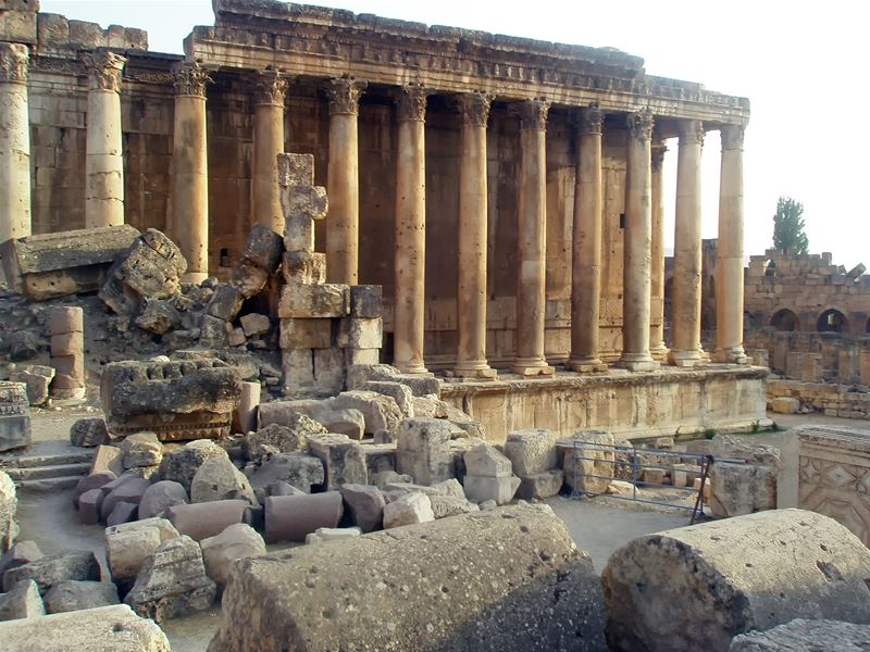Pictures Taken from Baalbeck on Sep 2008