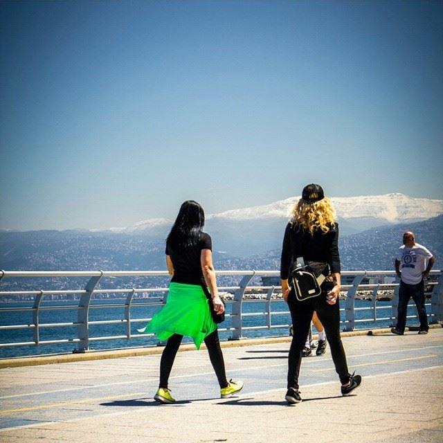 Morning walks BeirutCity