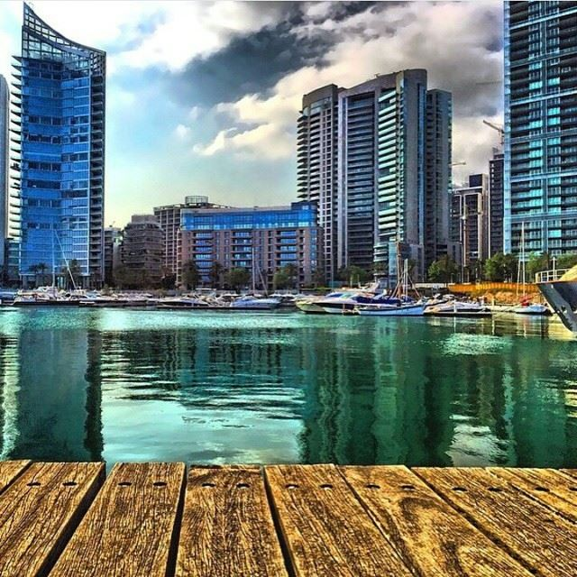 Good Morning from St. George ⛵️⚓️.BeirutCity