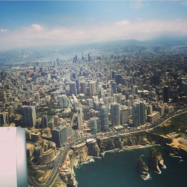 Beirut From🔝 Top View