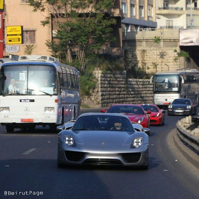 SuperCars vs SuperBuses BeirutCity
