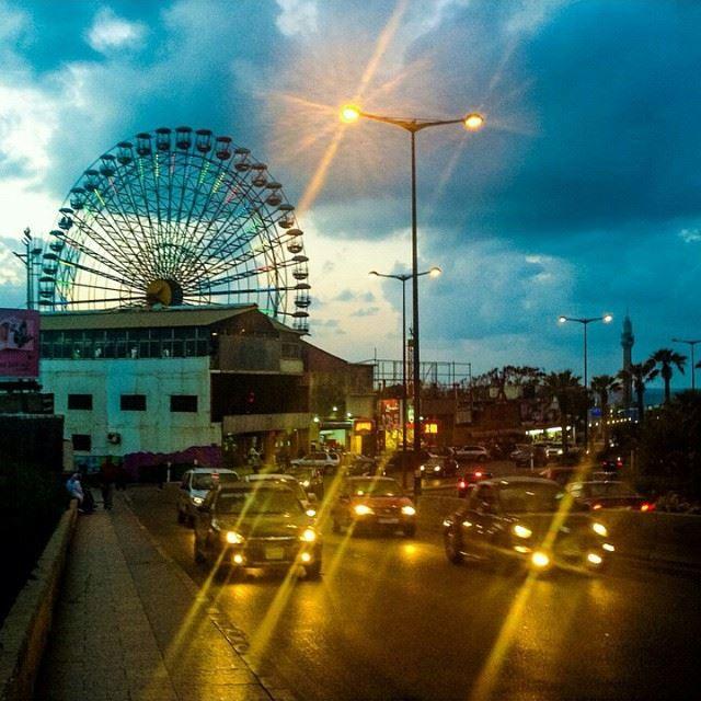 Beirut City Today BeirutCity Rawche Main Street Beirut Lebanon Lebanese Photo By @nabihahajaig