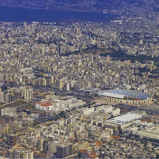 Flying over my 2nd home... Can't wait to land in this city again. beirut Lebanon
