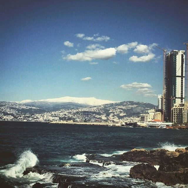 Beirut, controversial yet charming ... And definitely addictive city..