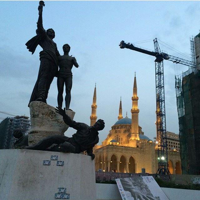Temsal Al Shouhada Downtown, Beirut Beirut Lebanon BeirutThroughOurEyes LoveBeirut Eastwoodschools EastwoodCollege BeirutCity Lebanon Liban