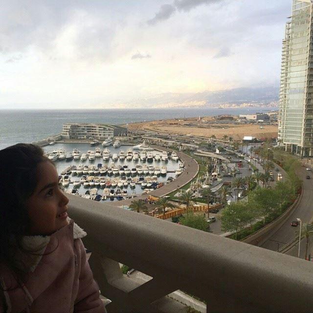 Lovely weather GoodMorning Beirut 😍☺️