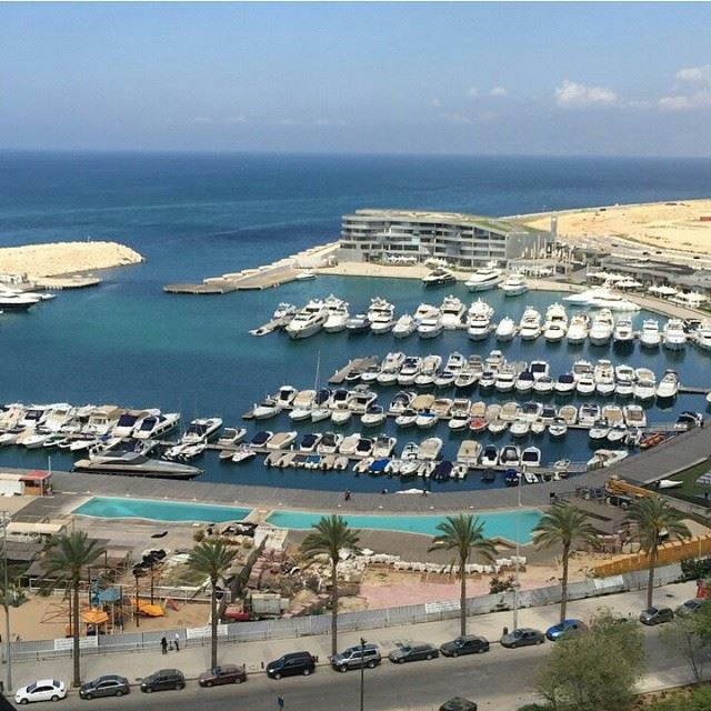Yachtclub in beirut 🚤⛵️ (Phoenicia Hotel Beirut)