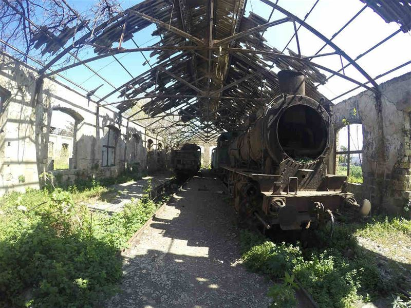Tripoli Abandoned Train Station