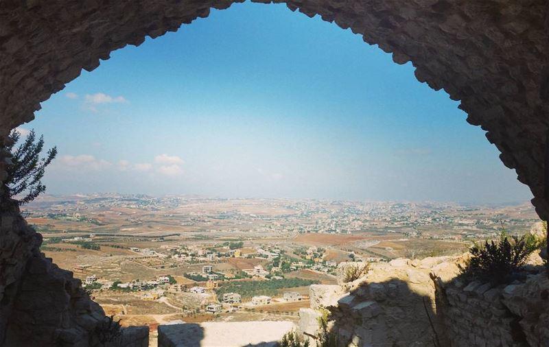 Beautiful Lebanon 😍 #throwback #onemont (Beaufort Castle, Lebanon)
