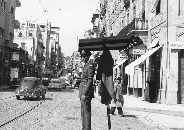 Beirut Weygand Street - 1960