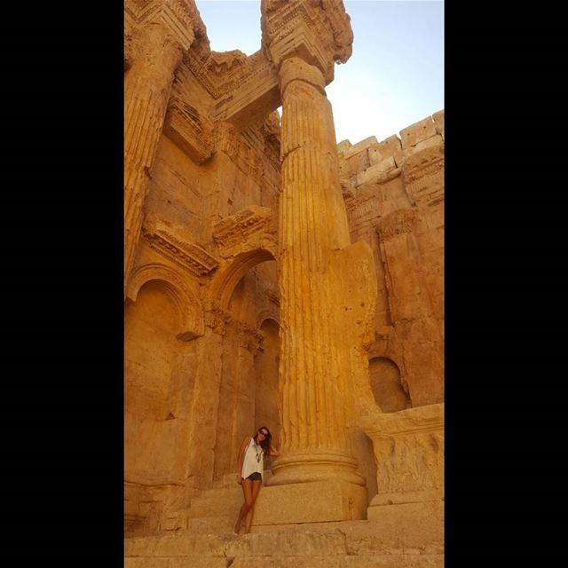 Храм Бахуса☚ (Baalbeck Temples)